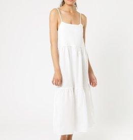 NUDE LUCY Miles Linen Midi Dress