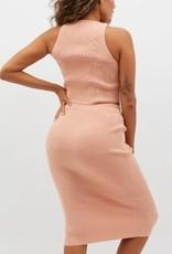 MINKPINK Joan Knit Midi Skirt - Size L