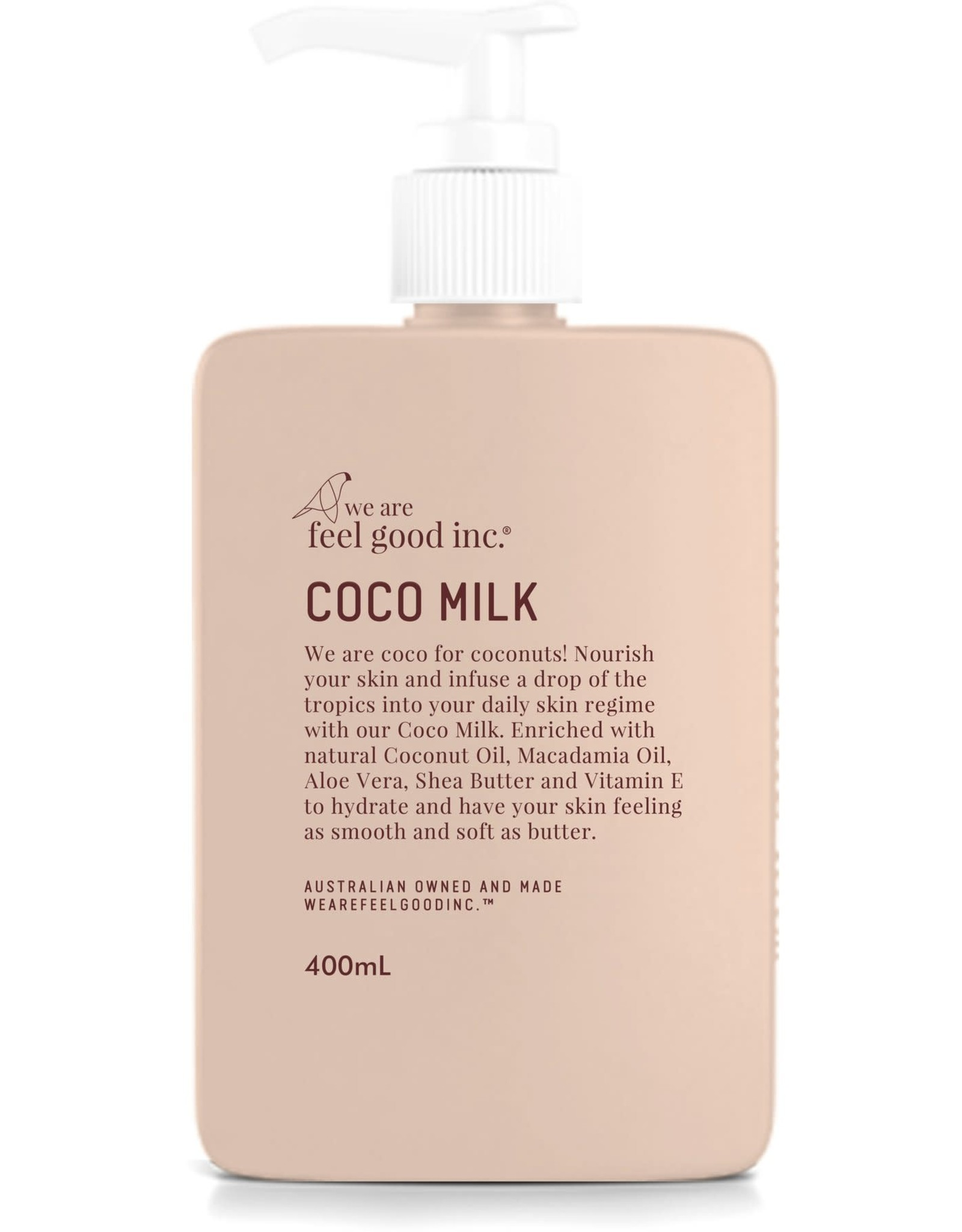 WE ARE FEEL GOOD INC Coco Milk Coconut Moisturiser 400ml