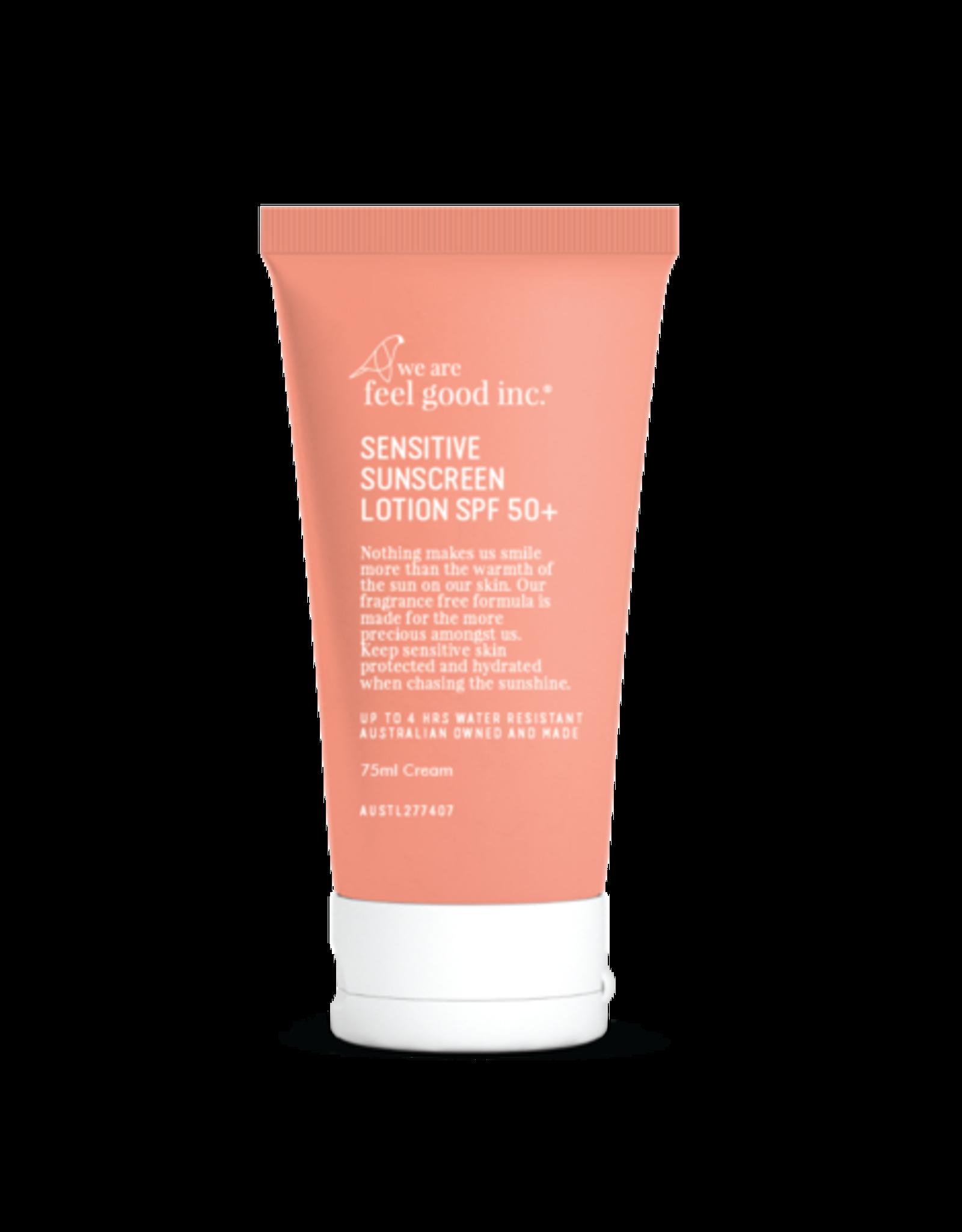 WE ARE FEEL GOOD INC Sensitive Sunscreen SPF50+ 75ml