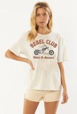 AMUSE SOCIETY Rebel Club S/S Knit Tee