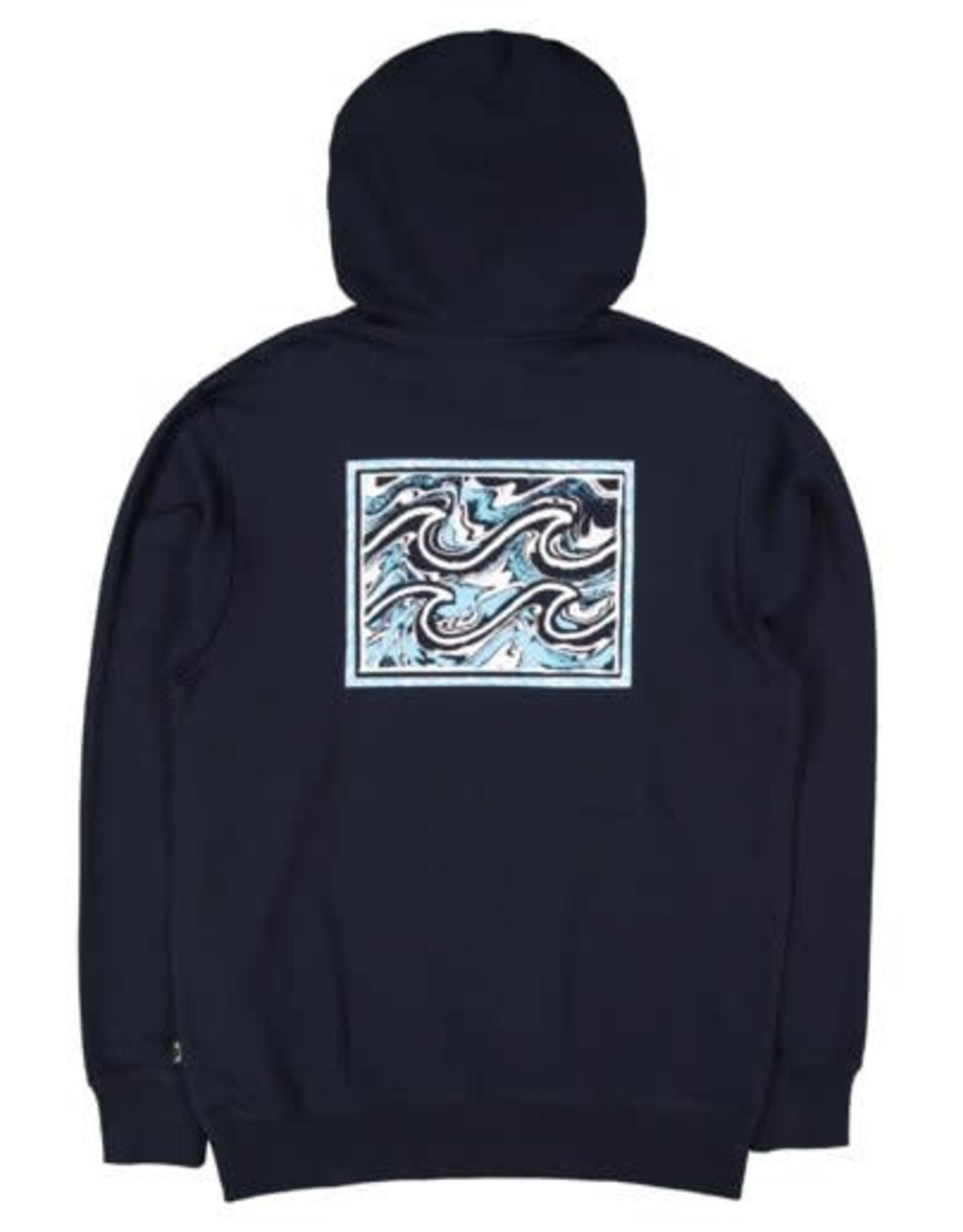 BILLABONG Crayon Wave Pop Hood