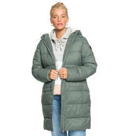 ROXY Crest Of The Wave Sherpa Hooded Jacket