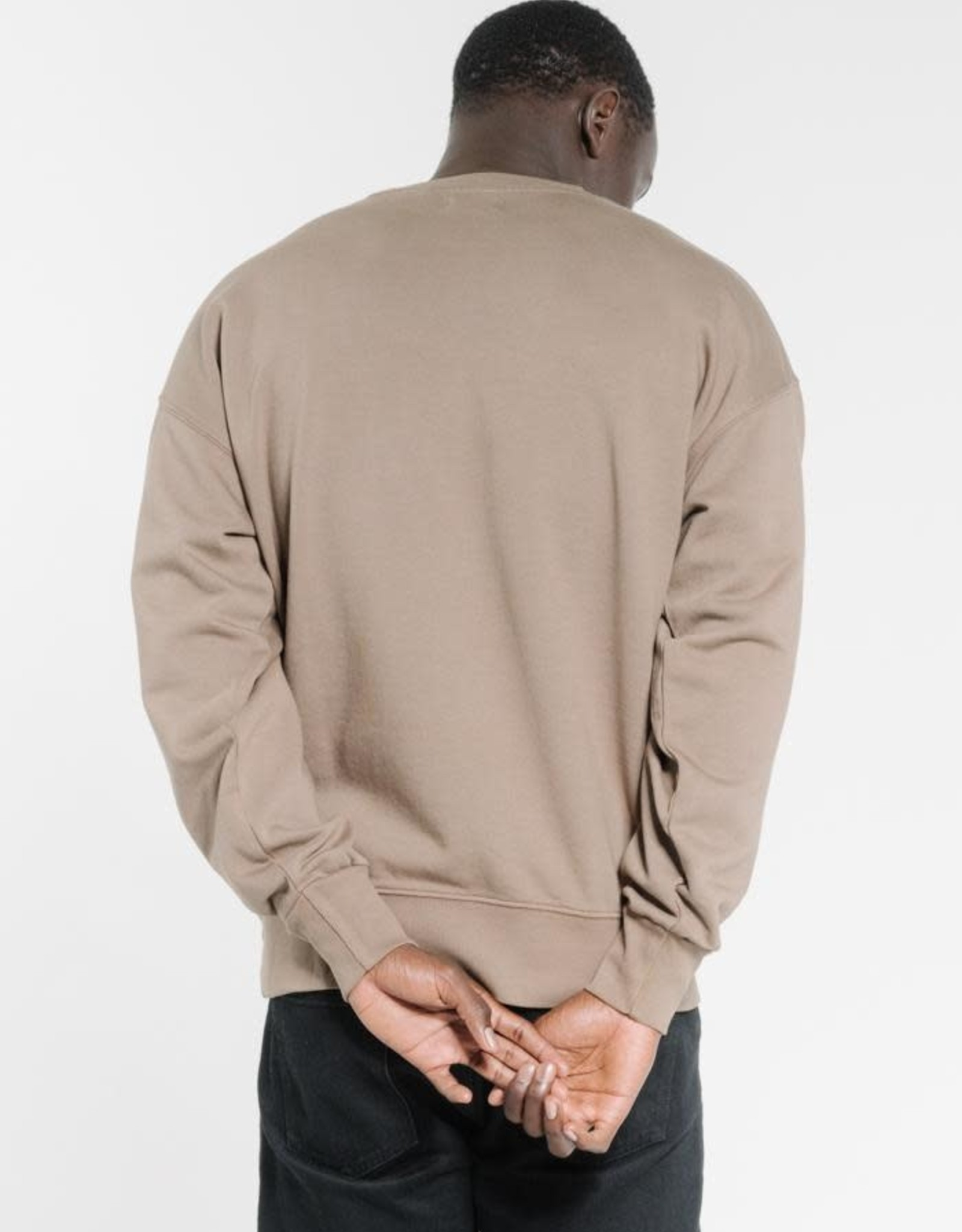THRILLS Company Pinline Stack Slouch Fit Crew
