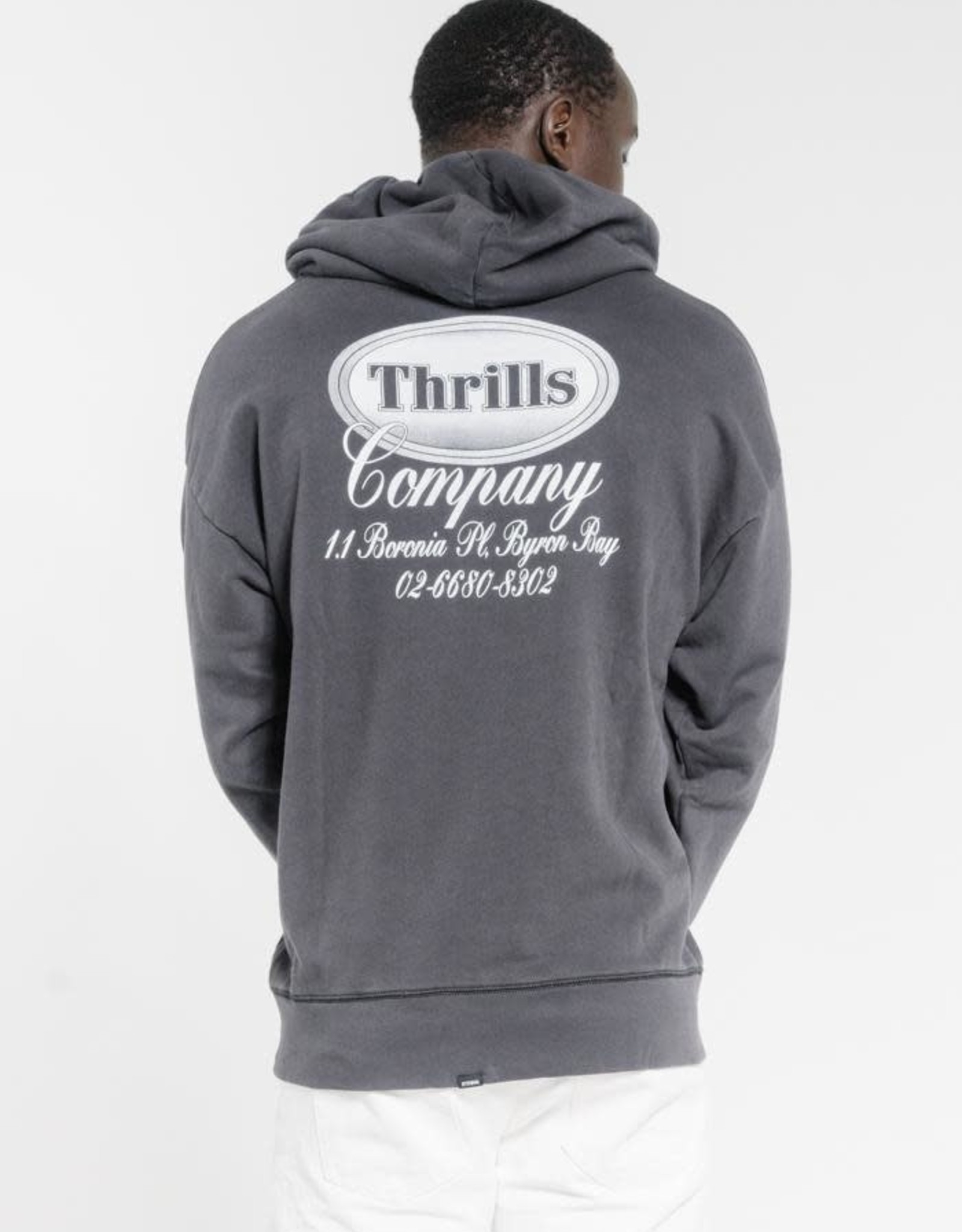 THRILLS Troubled Paradise Slouch Pull On Hood