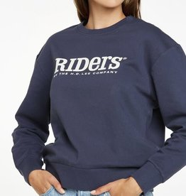 RIDERS BY LEE Classic Relaxed Logo Sweat