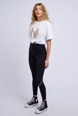 ALL ABOUT EVE Bold Leopard Panelled Tee