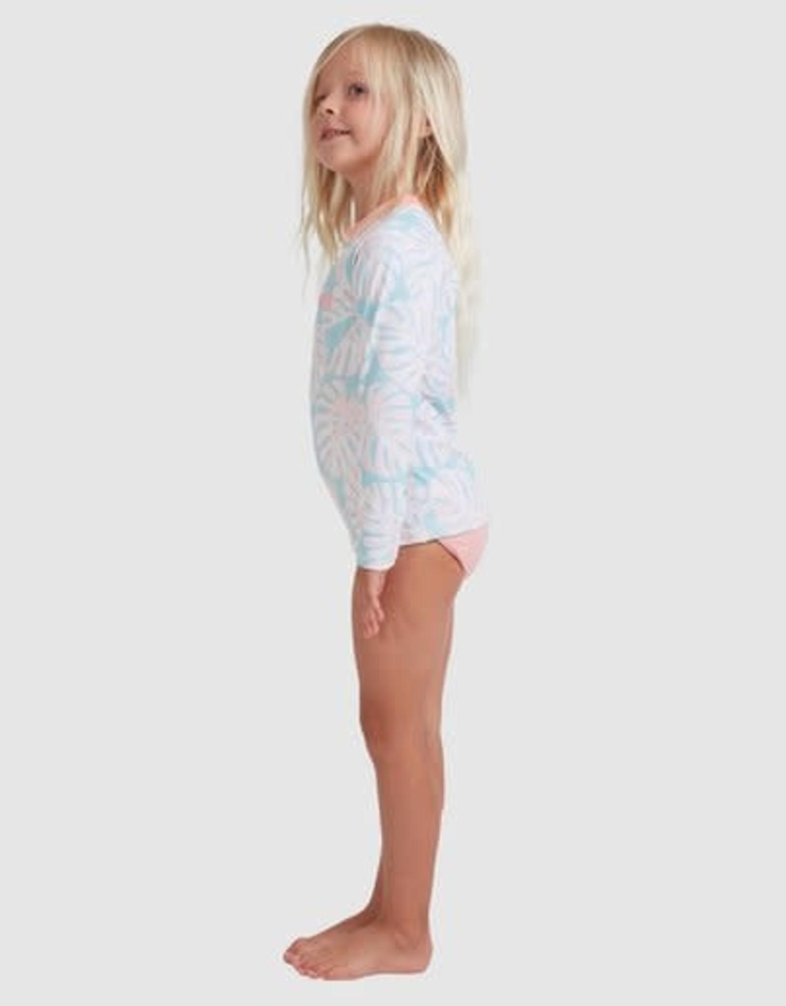 BILLABONG Grom Girls Shady Palms Sunshirt Set