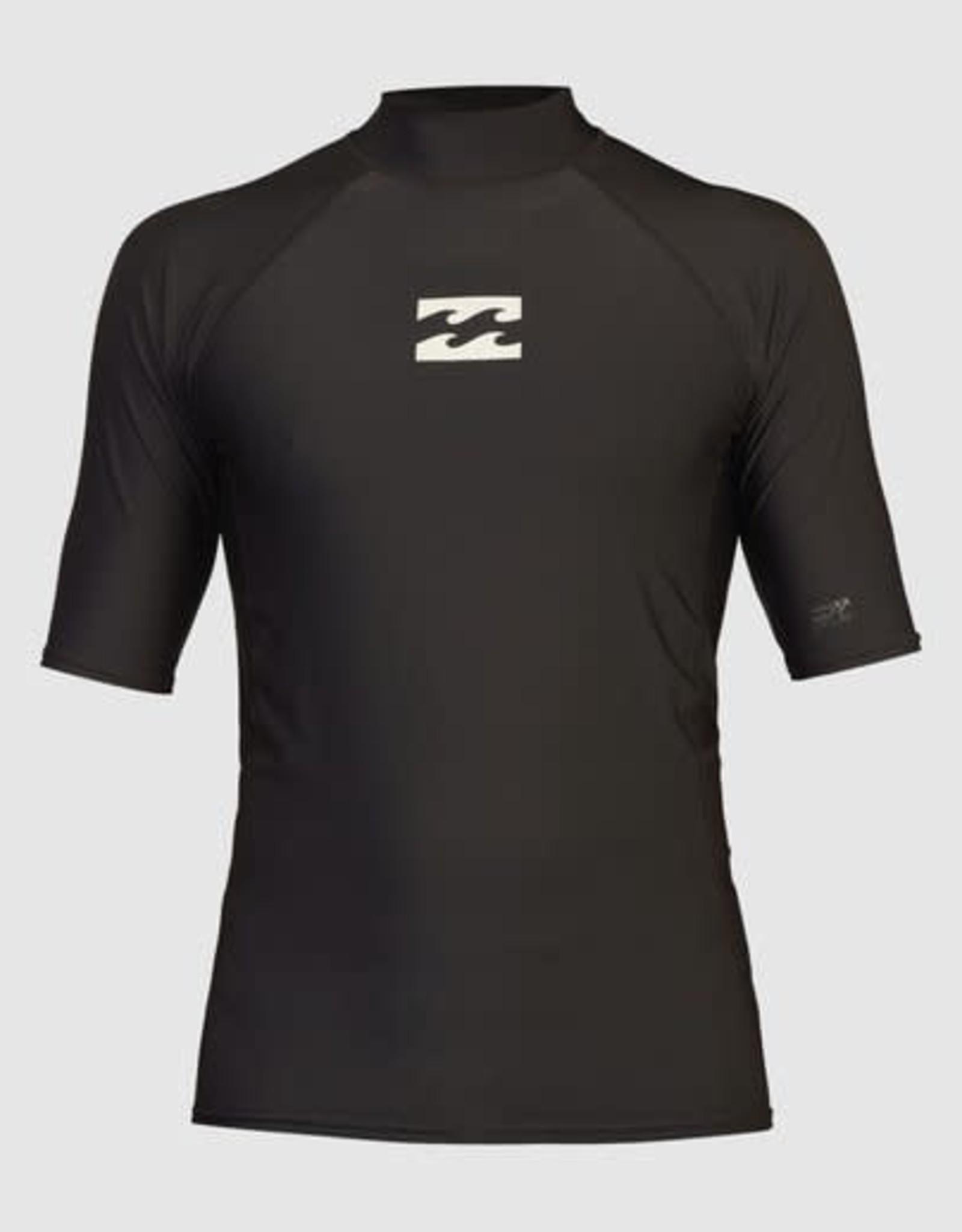 BILLABONG All Day Wave Performance Fit Short Sleeve Rashguard