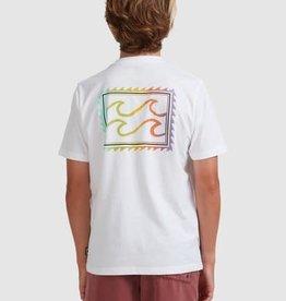BILLABONG Boys Crayon Wave Tee