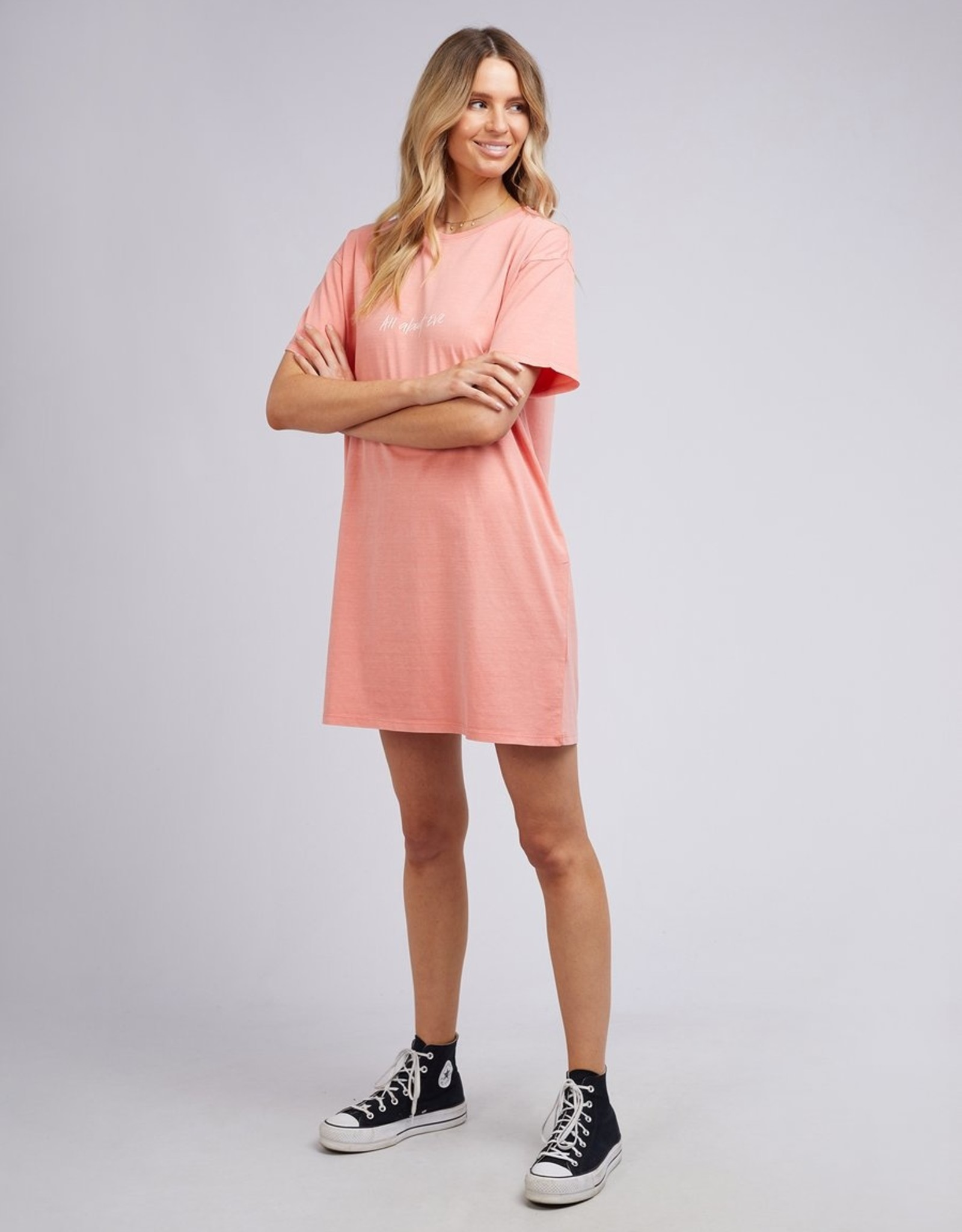 ALL ABOUT EVE Essential Eve Tee Dress