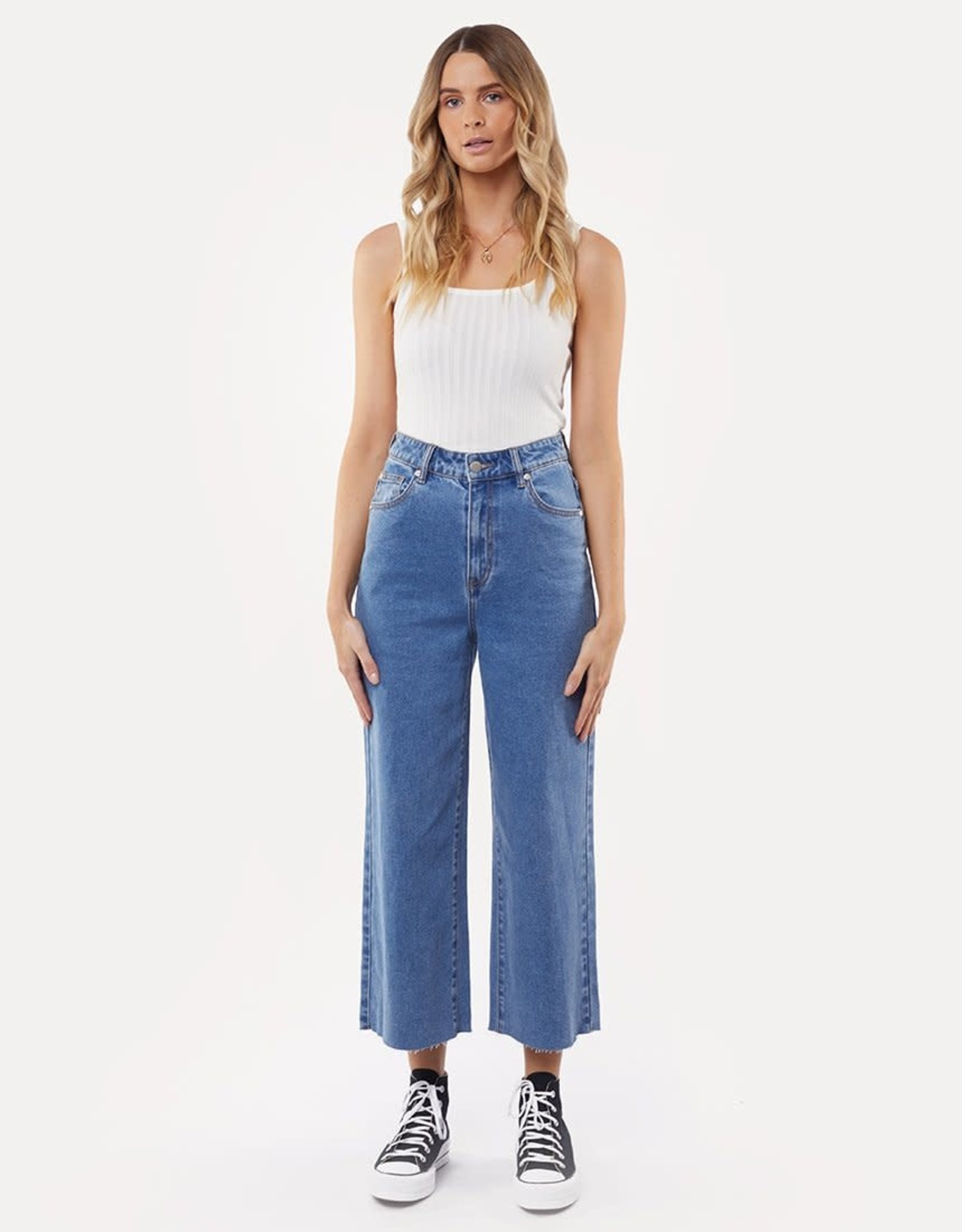 ALL ABOUT EVE Charlie High Rise Wide Leg Jean