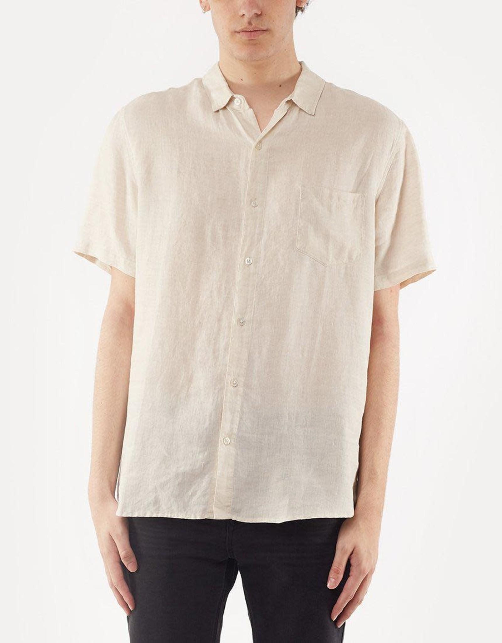 SILENT THEORY Linen SS Shirt