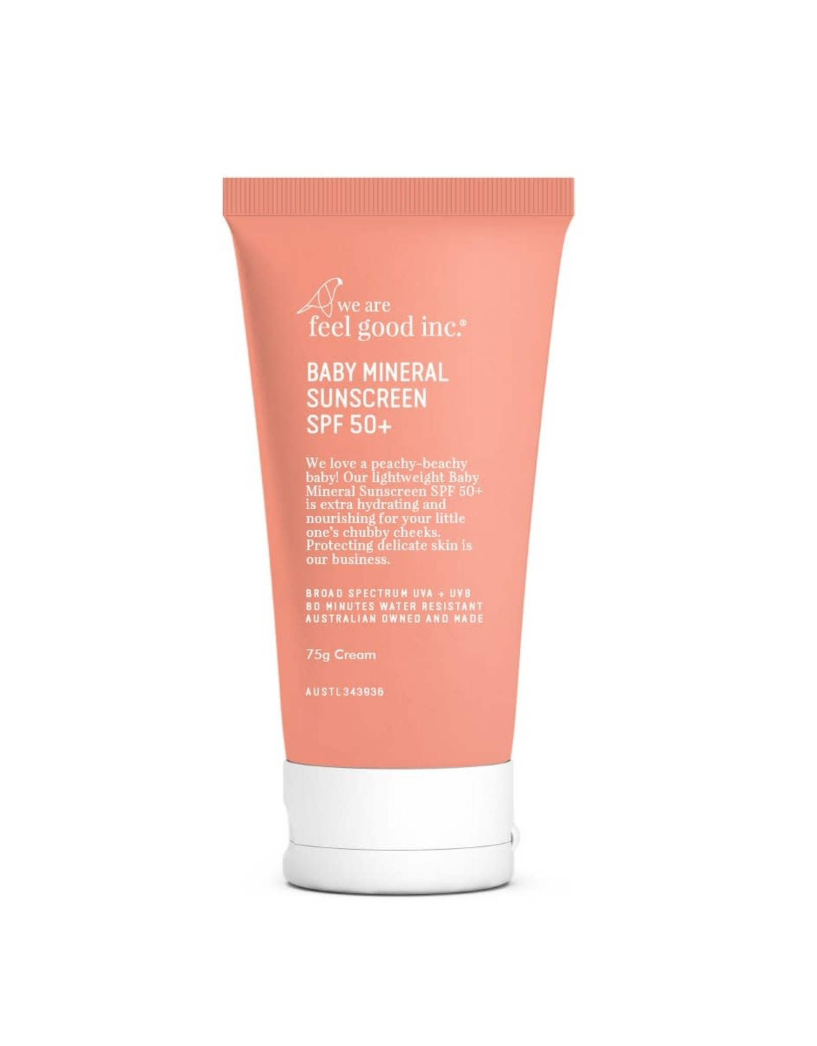 WE ARE FEEL GOOD INC Baby Mineral Sunscreen SPF50+ 75ml