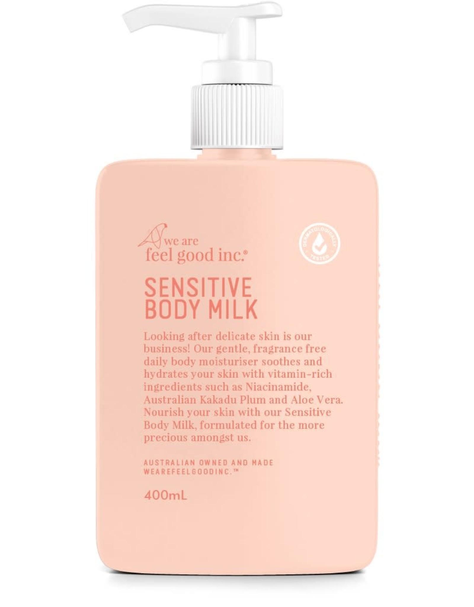 WE ARE FEEL GOOD INC Sensitive Body Milk 400ml