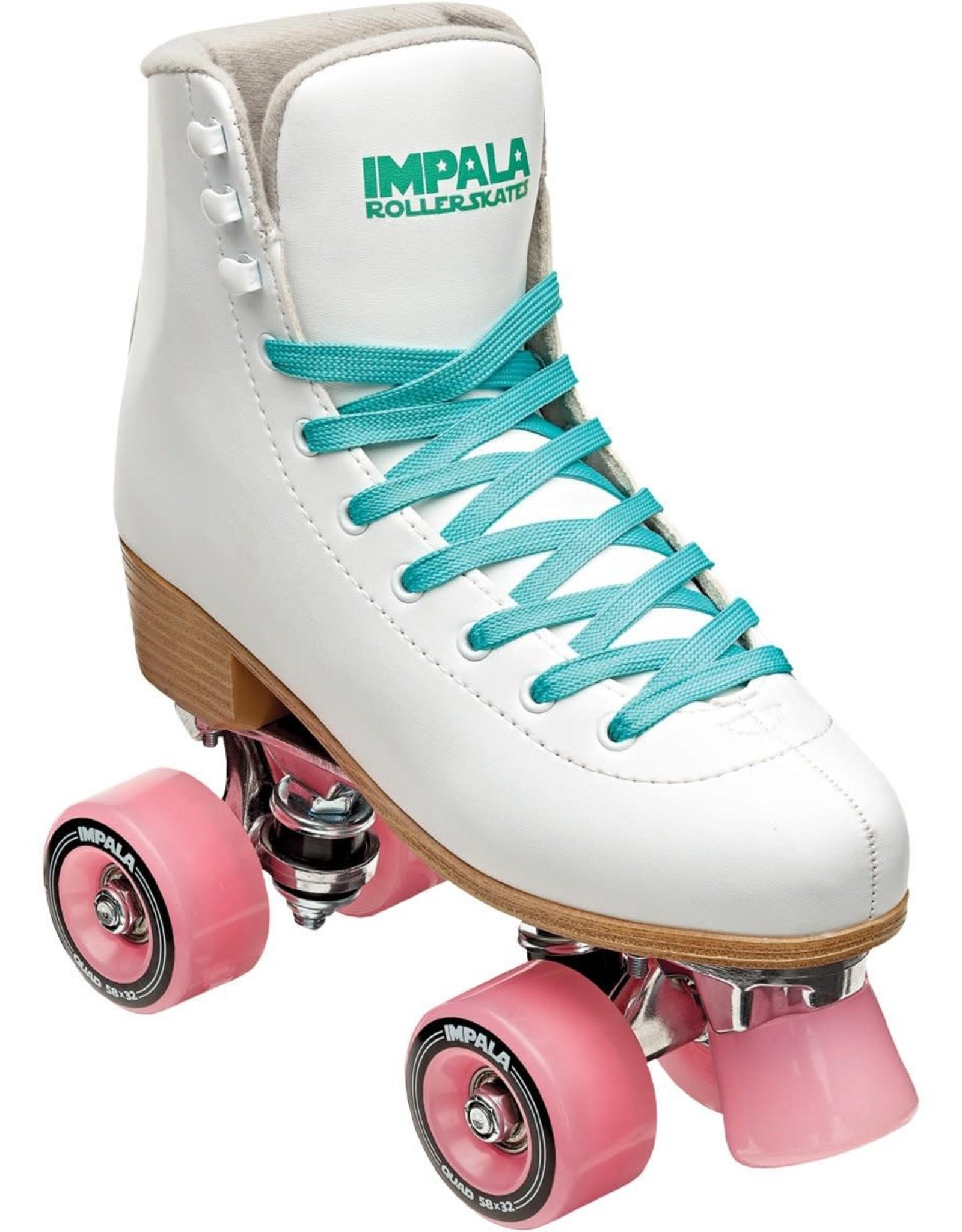 Impala Quad Skate - White