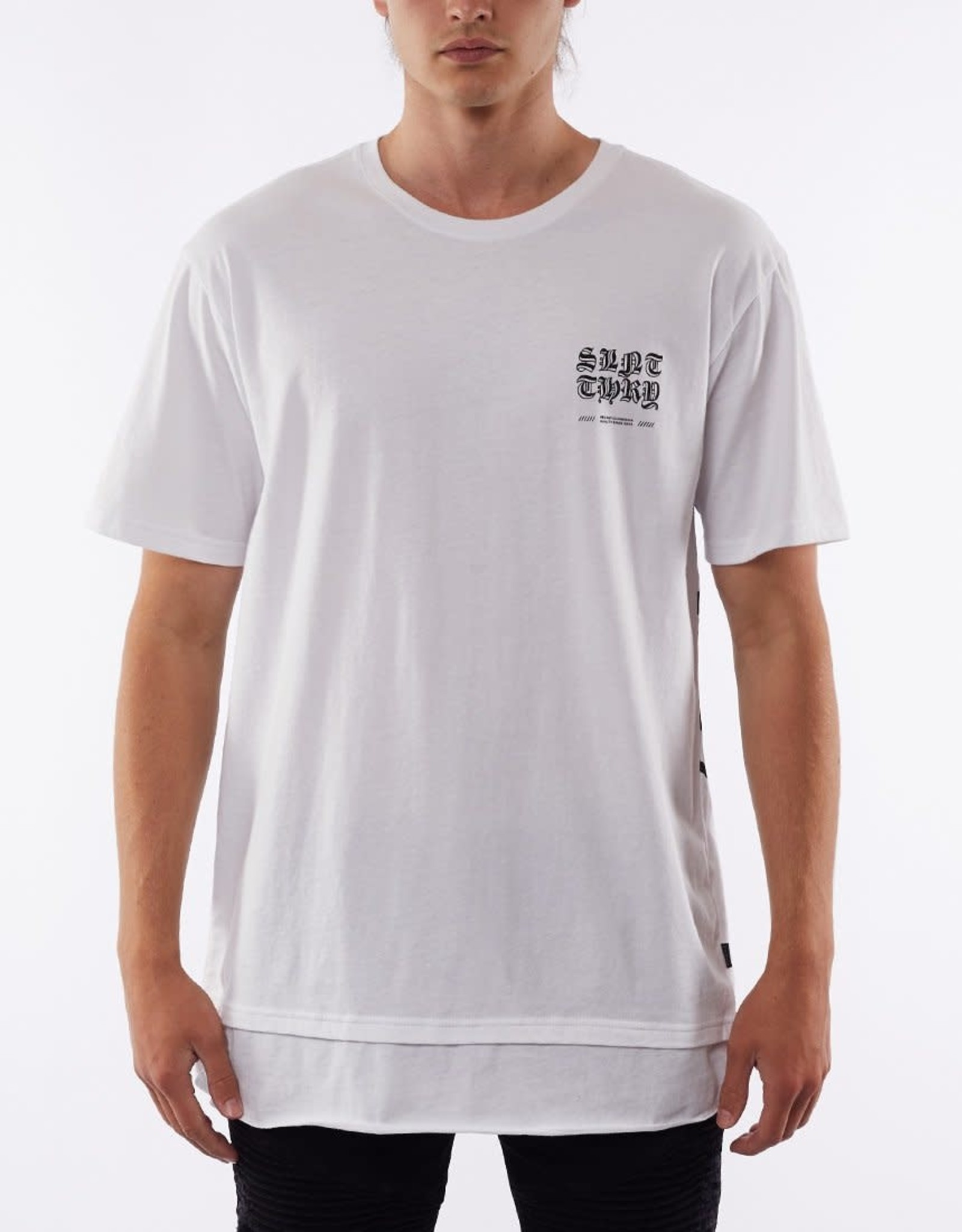 SILENT THEORY Uneasy Tee - White