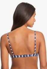 ROXY Printed Beach Classics Underwired Elongated Tri Bikini Top