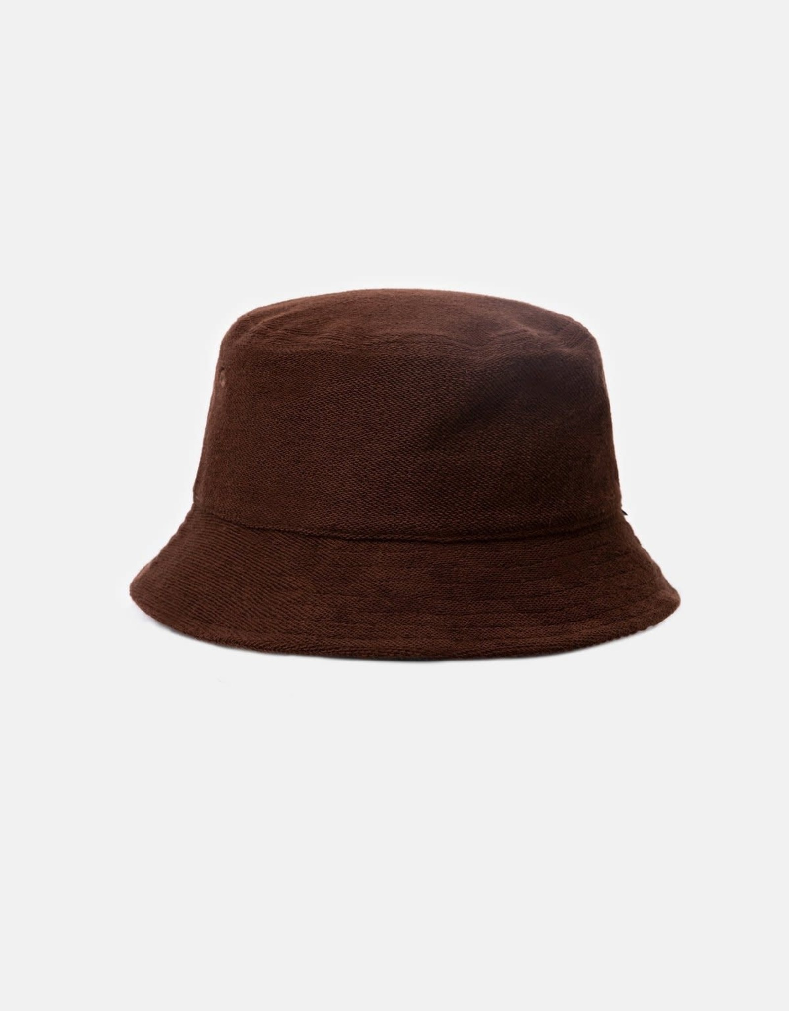 RHYTHM Terry Towelling Bucket Hat Chocolate