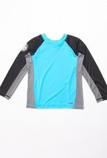 RIP CURL Grom Boys Driven Box Long Sleeve UV Tee Rash Vest