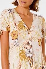 RIP CURL Paradise Calling Short Sleeve Dress