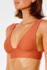 RIP CURL Premium Surf Deep V Bikini Top