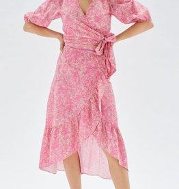 MINKPINK Zaynab Wrap Midi Skirt