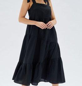 MINKPINK Dakhia Bow Tie Maxi Dress