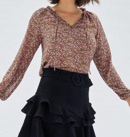 MINKPINK Fatima Frill Mini Skirt