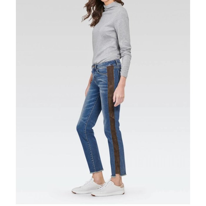 Kinney Skinny Jean with Suede