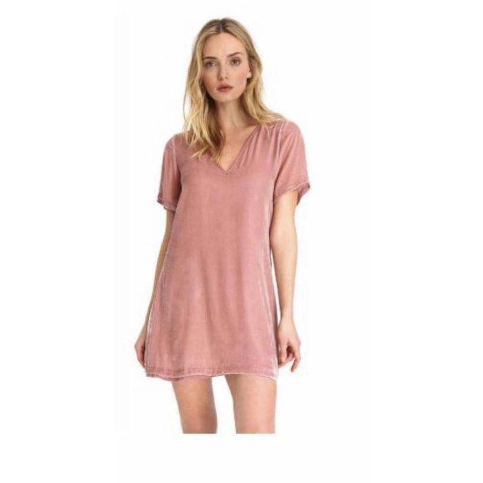 Willa Velvet Shift Dress