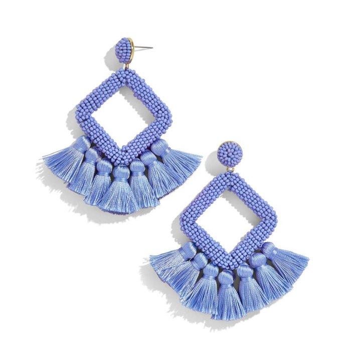 Laniya Fringe Drop Earring