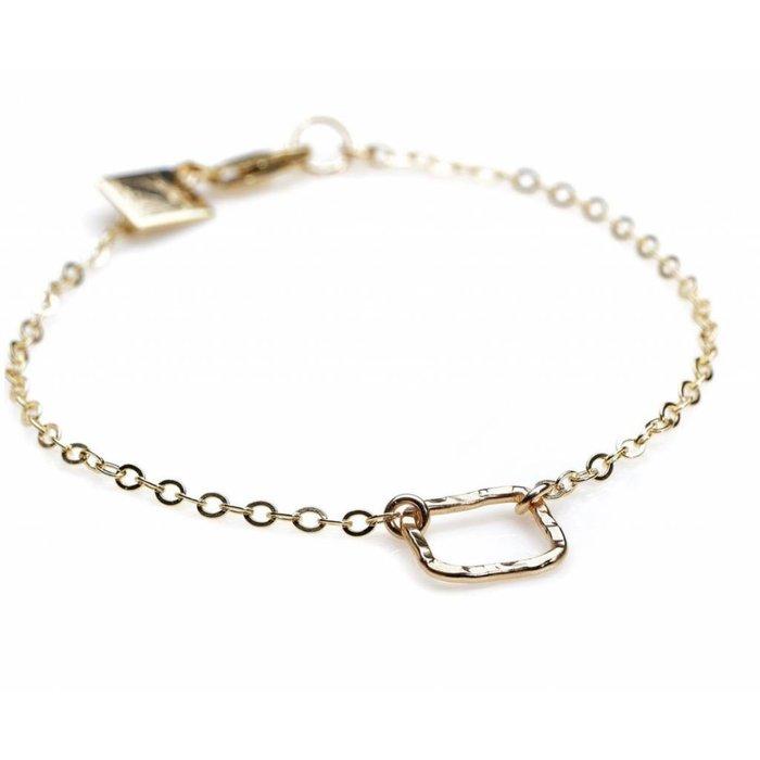 Square Bracelet Silver