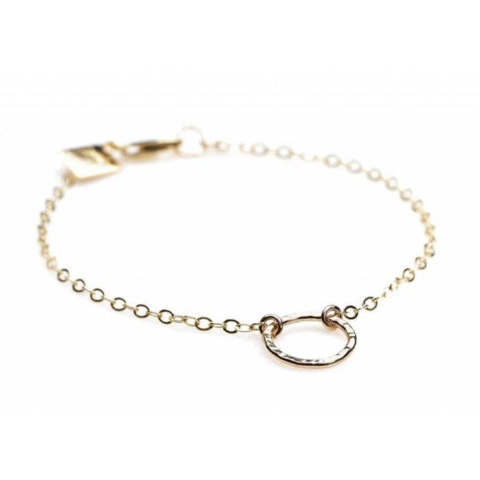 Circle Bracelet GF