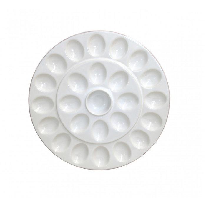 Stoneware Egg Platter