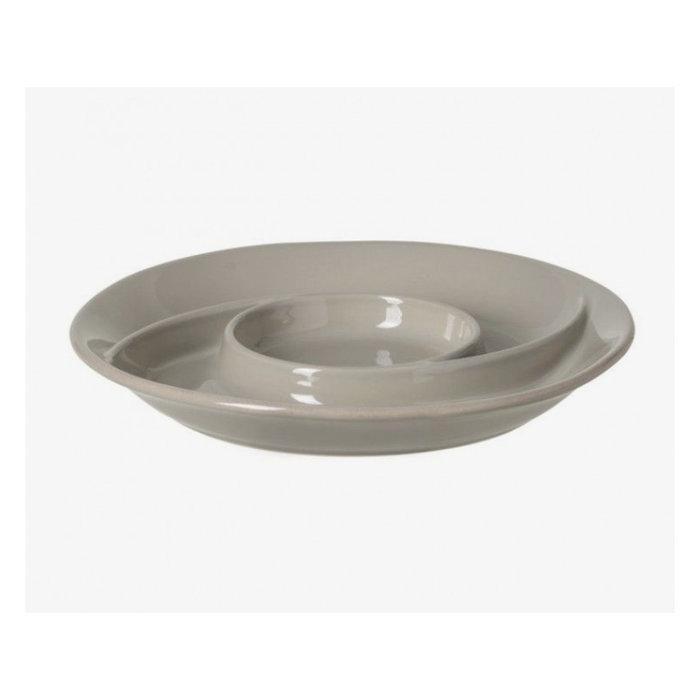 Stoneware Chip & Dip