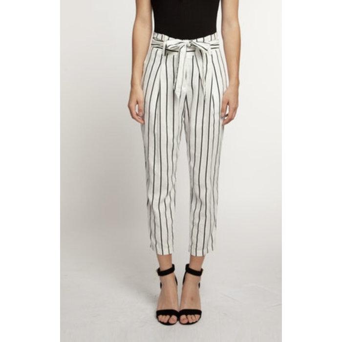 Stripe Paperbag Pant