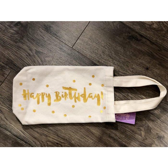 Wine Bag--Happy Birthday