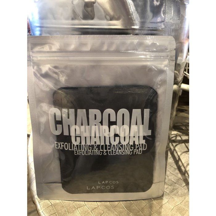 Charcoal Exfoliating Pads