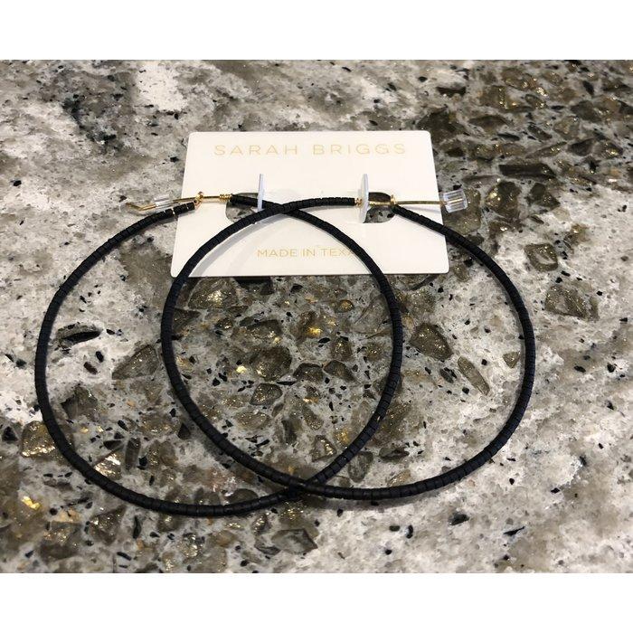 Micro Bead Hoop