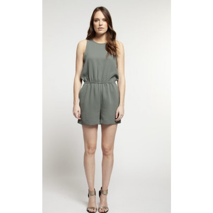 Scoop Neck Romper