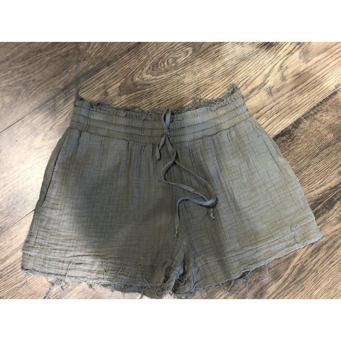 Raw Hem Shorts