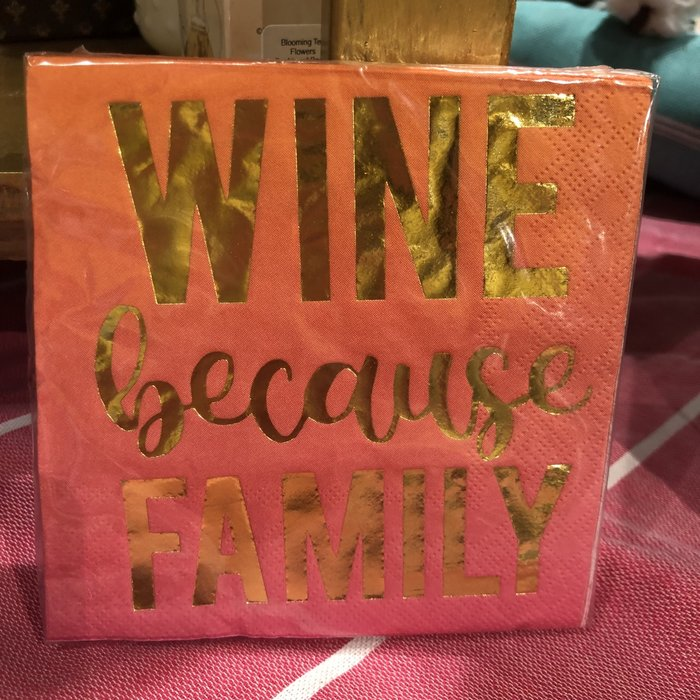 Wine Because Family