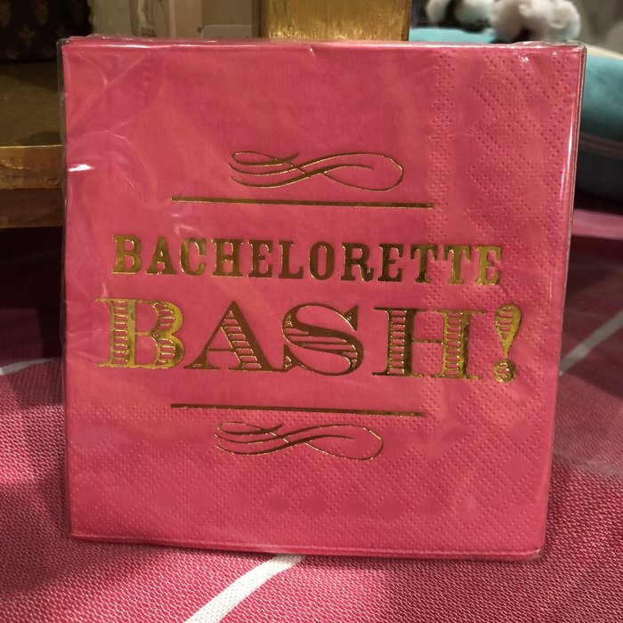 Beverage Napkin--Bachelorette