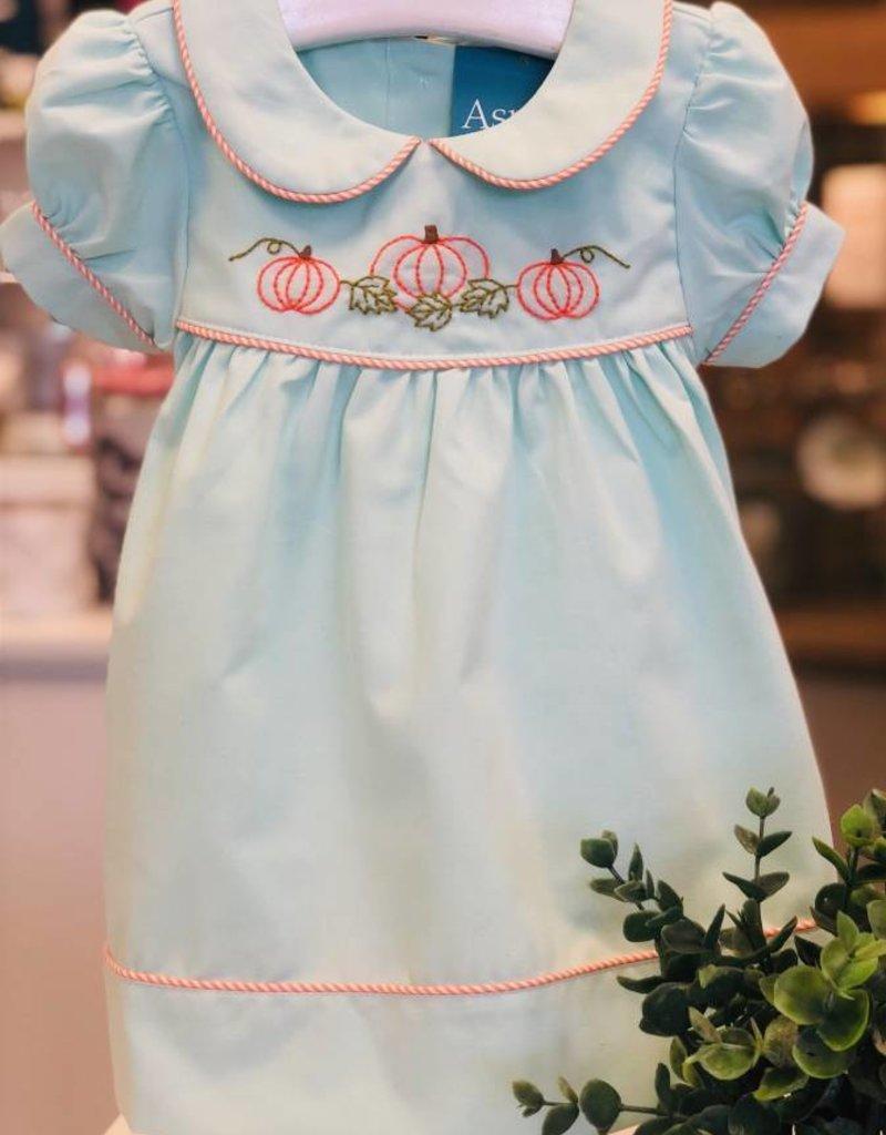 Mint Pumpkin Dress