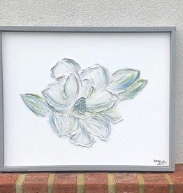 Textured Magnolia by Amy Betts