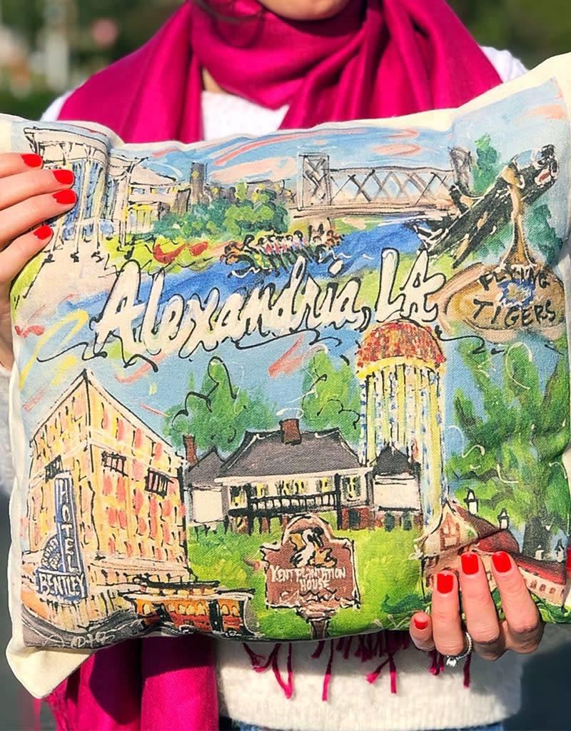 Alexandria Custom Pillow