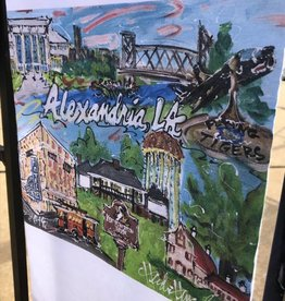 Alexandria Custom Dishtowel