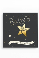 Baby's First Year Gold Foil - Space