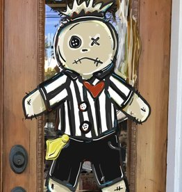 ***Pre-Order Referee VooDoo Door Hanger